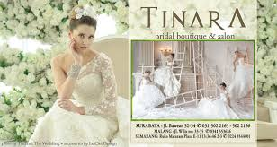 wedding dress surabaya tinara bridal dan salon