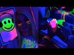 black light party ideas epic black light party