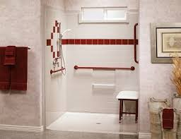 Bathroom Shower Systems Walk In Showers For Seniors Handicapped Installed In Manitowoc
