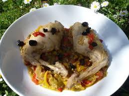 cuisiner des cuisses de lapin cuisses de lapin aux poivrons recette light cuisine rebelle