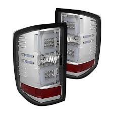 chevy silverado led tail lights spyder chevy silverado 2500 hd 3500 hd without factory led tail