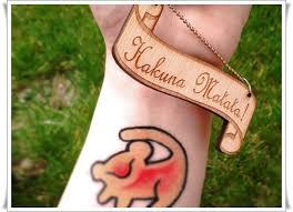 30 amazing hakuna matata tattoos