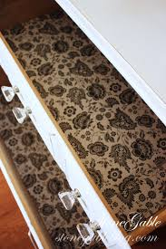 Kitchen Cabinet Lining Making Scented Drawer Liner Stonegable