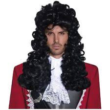 Captain Hook Halloween Costume Pirate Costume Wigs Hair Ebay