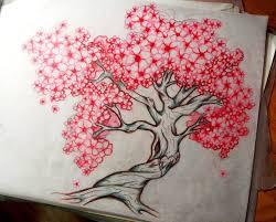 cherry blossom tree design