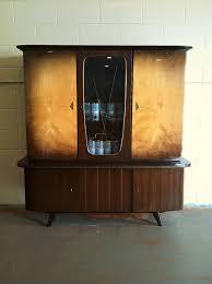 mid century modern german teak atomic liquor cabinet urban