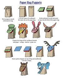 25 unique paper bag puppets ideas on paper bag crafts