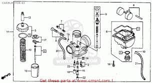 honda cr80r 1983 d usa carburetor 83 schematic partsfiche