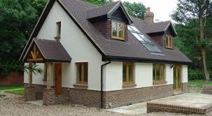 hartfell homes ettrick bungalow new build elegant unique design artists impression floor bungalow house design uk house decorations