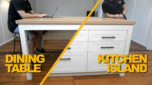 how to make a kitchen island with seating how to make a kitchen island bench