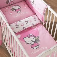 chambre hello bebe housse de couette hello 100 x 135 cm petit lit parure