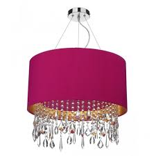 Ceiling Light Shade Modern Ceiling Pendant Light Shade Drum Shaped With Drops