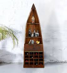 distressed wood bar cabinet buy dave bar cabinet in distress finish by bohemiana online bar