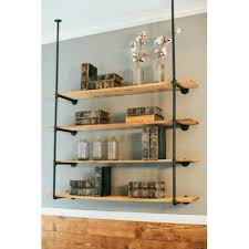 Industrial Pipe Bookcase Industrial Pipe Shelving