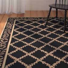 millican black gold wilton trellis area rug u0026 reviews birch lane