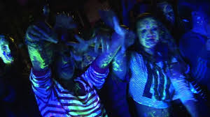 ad events entertainment uv paint party ice rink youtube