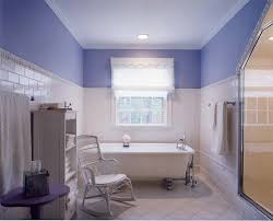 Paint Bathroom Tile Boston Periwinkle Blue Paint Bathroom Traditional With Crown