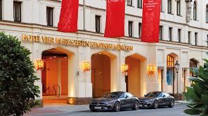 5 star luxury hotel in munich hotel vier jahreszeiten kempinski