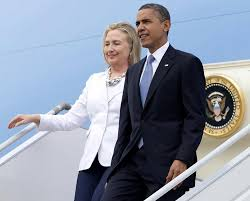 obama s obama and clinton to take air force one to caign event ny daily
