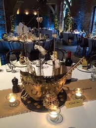 themed centerpieces for weddings pirate ship wedding centrepiece centerpiece wedding pirate