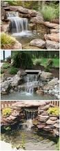 backyards ergonomic building a backyard waterfall building an