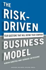 the four questions book the risk driven business model four questions that will define