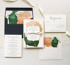 navy blue wedding invitations navy blue hydrangea wedding invitations beacon