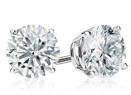 make your own earrings studs diamond studs custom build your own diamond stud earrings