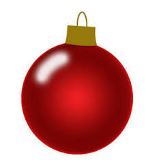 clipart picture of a shiny tree ornament