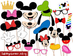 mickey mouse photo booth props mickey mouse minnie disney photo booth props photobooth