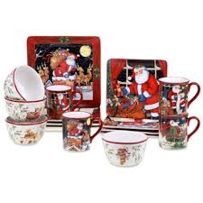 buy christmas dinnerware sets from bed bath beyond
