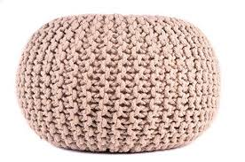 Ottoman Prices Cable Pouf Ottoman Accessories Trendy Modern Home