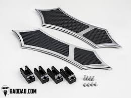 Motorcycle Footboards Floorboards Bad Dad Custom Bagger Parts For Your Bagger
