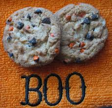 chips ahoy haunted halloween chocolate chip cookies junk food betty