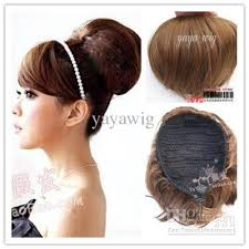 clip on ponytail 2017 clip on updo ponytail hairpiece hbt from