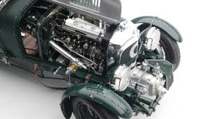 bentley engine bentley blower 1929 2nd le mans scale model cars