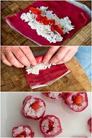 cuisiner sushi fruit sushi recette sushi école et cuisiner
