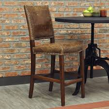 Unique Bar Stools by Shabby Chic Unique Rustic Bar Stools For Brick Stone Interior