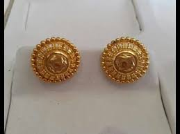 gold earring studs designs gold earrings studs designs collection