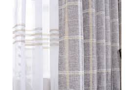 gold plaid curtains privilege thermal insulated blackout