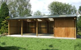 Garage With Workshop Other Bespoke Buildings Bespoke Timber Construction