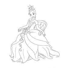 coloriage 0 imprimer princesse