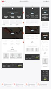web design agency responsive wireframe homepage