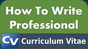 Making A Professional Resume How To Make A Professional Resume Cv Technical Tips N Tricks