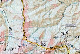 Durango Colorado Map by Trail Map Of Durango Cortez Colorado 144 National
