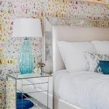 Headboard With Mirror by Mirror Framed Headboard Design Ideas