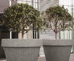 large concrete planter mago granpot large concrete planter public spaces esi external works