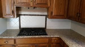 6x6 tile backsplash with granite