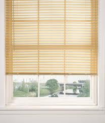 pvc woodgrain effect natural 25mm slatted venetian blinds 12