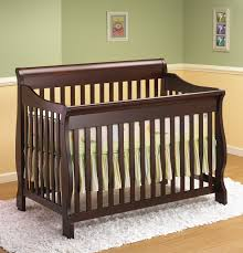 bedroom cool wood sleigh crib design with rugs and laminating